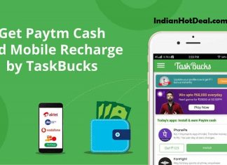 TaskBuck Promo Code 2019, Download App & Earn Free Rs.100 Paytm