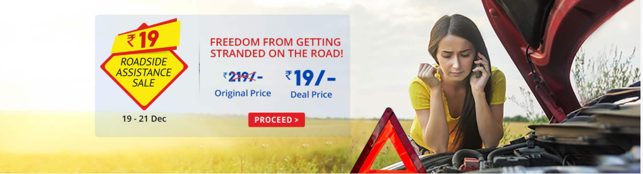 Droom Road Side Assistance Sale