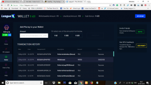 LeagueX Payment Proof