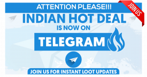 telegram loot deals channel Amazon, Flipkart, Paytm Shopping Channel