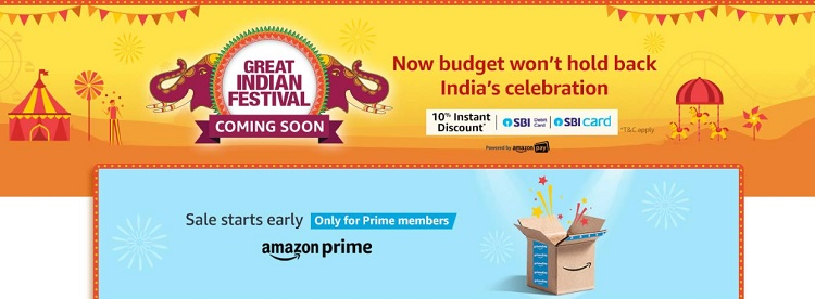 Amazon Great Indian Festival Sale 2019 (28 Sep-1 Oct): List Of Top Offers