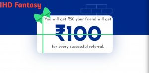 Steps To Get Rs.100 On MyTeam11 Fantasy App: