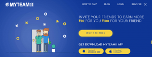 MyTeam11 Refer Code | Refer And Earn Rs.50 + Rs.100 On Sign up |