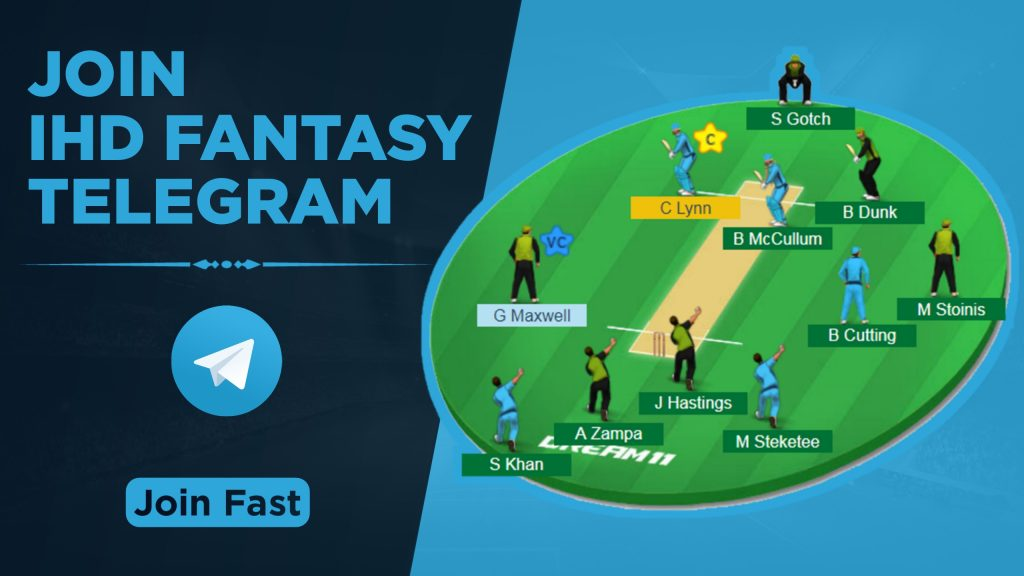 Dream11 Telegram Channel For Fantasy Prediction, Match News, Report