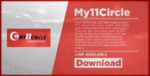 My11CircleAt No 6 Fantasy Cricket App List Download