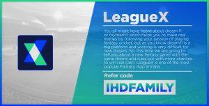 LeagueX At No 11 Fantasy Cricket App List Download