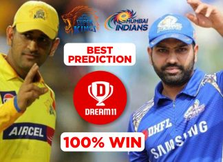 IPL 2019 - fina, MI vs CSK Dream11 Team Prediction Today Match