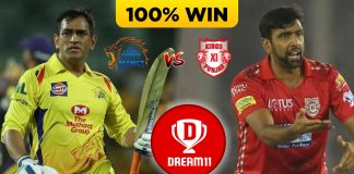 CSK VS KXIP DREAM 11 TEAM