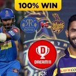 IPL 2019 ( MATCH 43 ) RR VS KKR Dream 11 Prediction & Playing XI