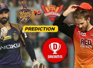 IPL 2019, 37th Match: SRH vs KKR Best Dream11 Team Today Prediction