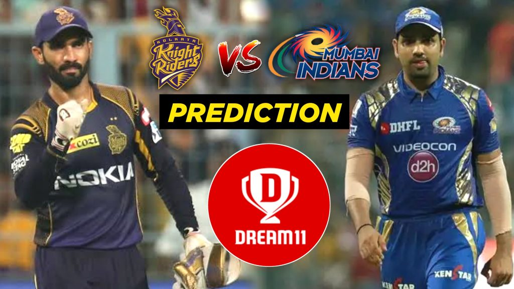 KKR vs MI Best Dream11 Team
