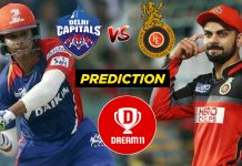 55th Match IPL 2020 DC vs RCB Dream11 Team Prediction Today (100% Winning Team)