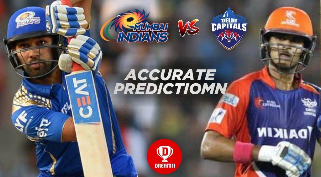IPL 2019, 34th Match: DC vs MI Best Dream11 Team Today Prediction