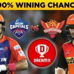 DC vs SRH Dream11 Team Prediction 33rd Match IPL 2021 (100% Winning Team)