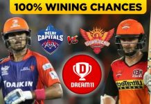 DC vs SRH Dream11 Team Prediction, Preview and Head to Head Qualifier 2 Match IPL, 8th November 2020