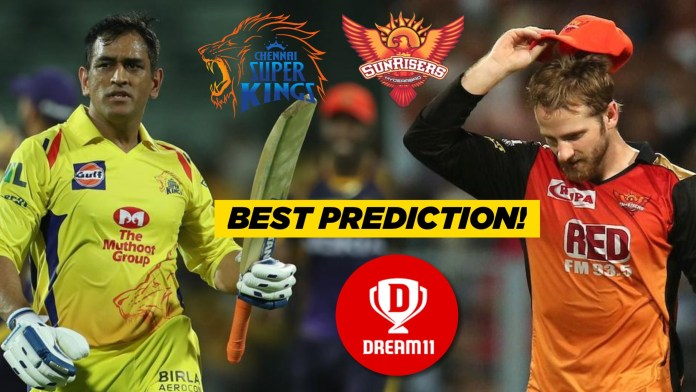 IPL 2019, 39th Match: SRH vs CSK Dream11 Prediction Today Team News