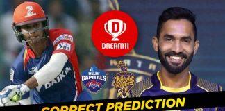 KOL vs DC Dream11 Team Prediction 41st Match IPL 2021 (100% Winning Team)