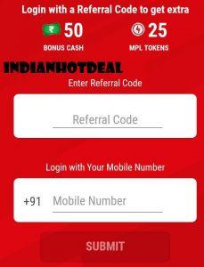 MPL Referral Code 2019