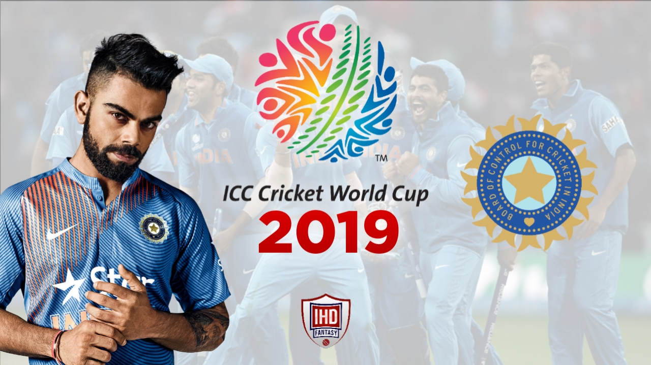 India Cricket Team for ICC World Cup 2019