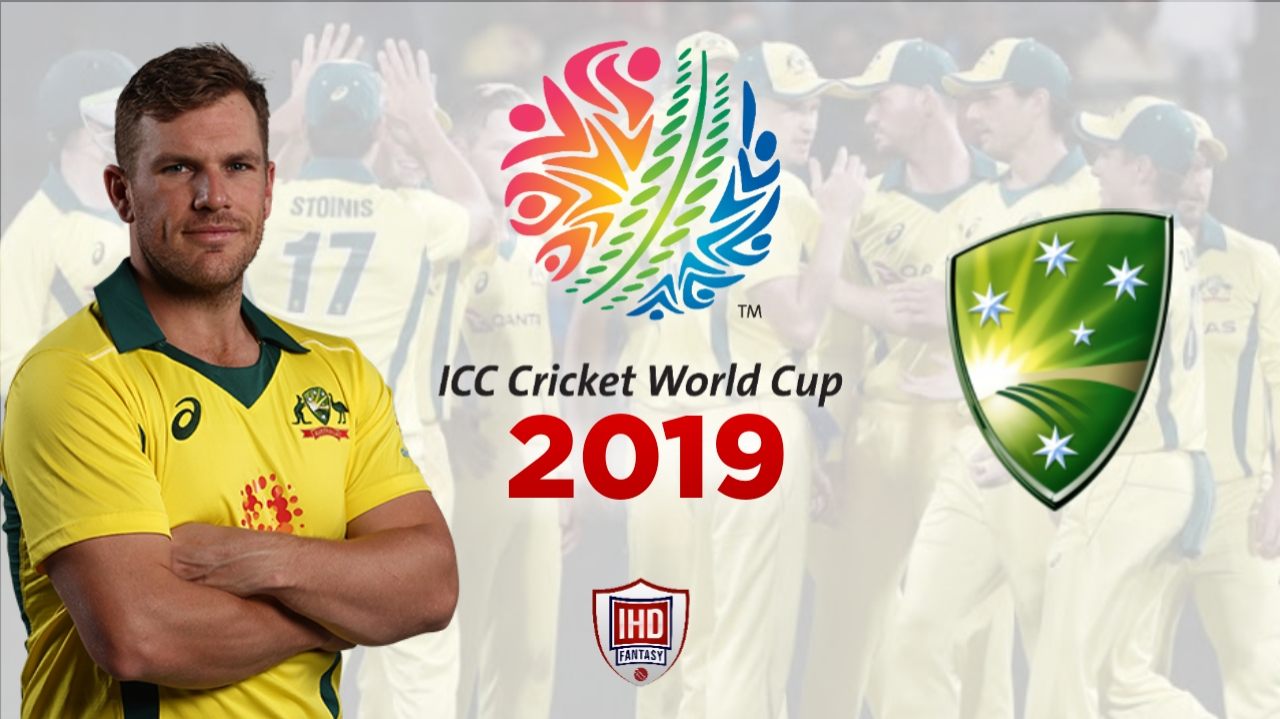 Australia Cricket Team for ICC World Cup 2019