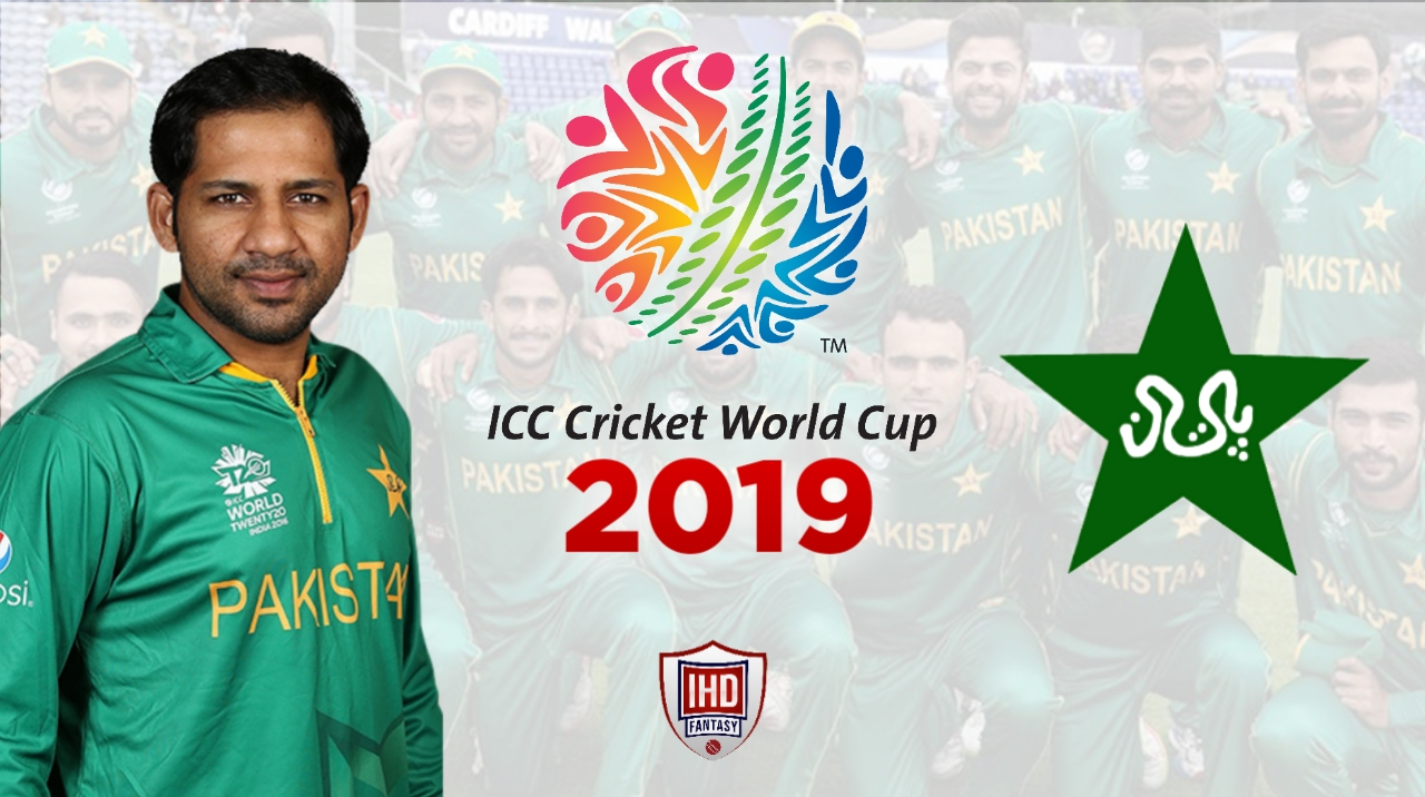 Pakistan Cricket Team for ICC World Cup 2019