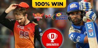 56th Match IPL 2020 SRH vs MI Dream11 Team Prediction Today (100% Winning Team)