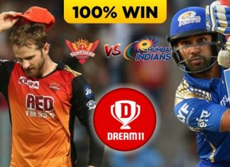 56th Match IPL 2020 SRH vs MI Dream11 Team Prediction Today (100% Winning Team)