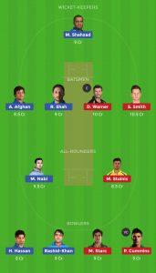 AUS vs AFG Dream 11 Team For Small League