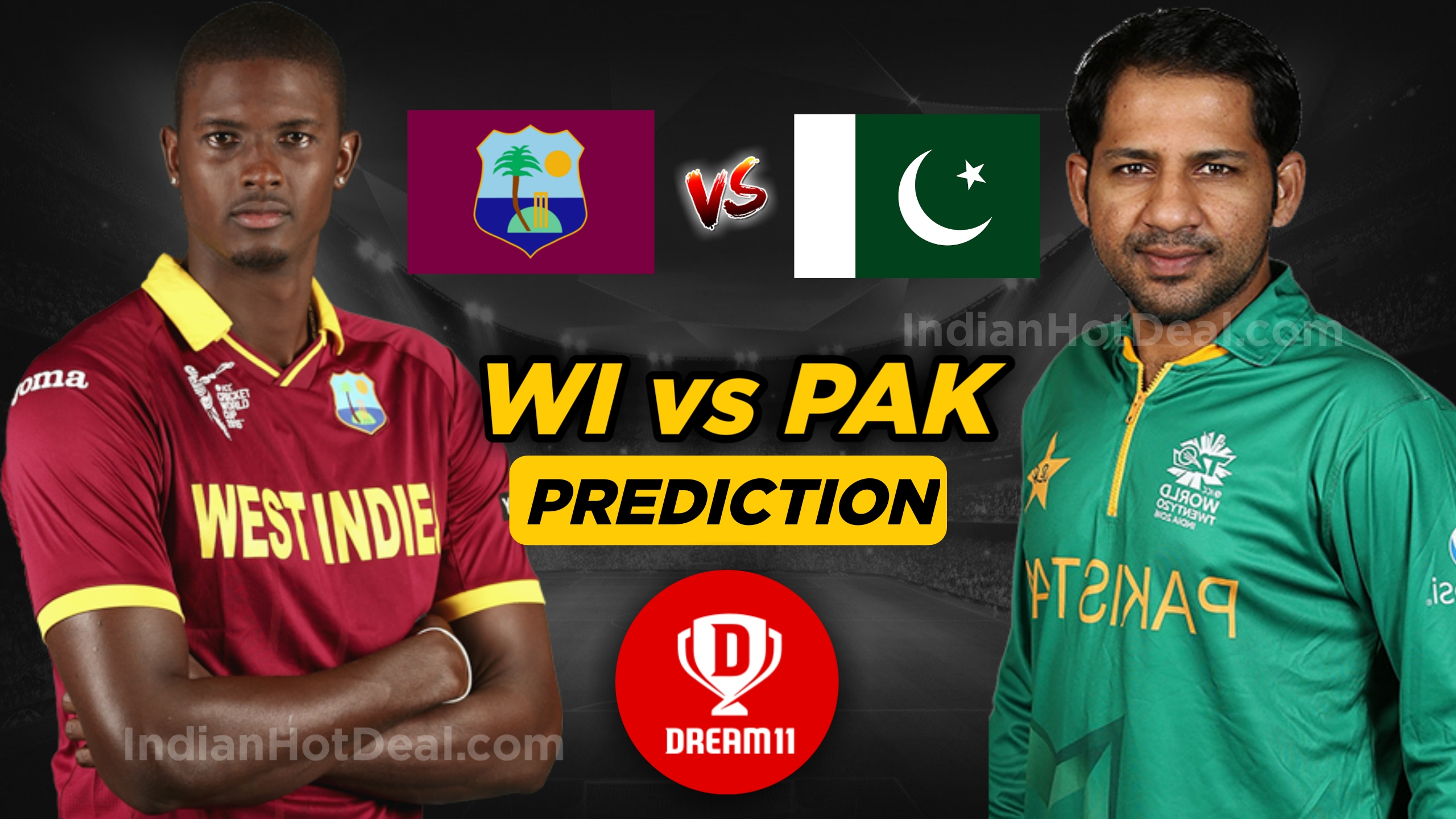 ICC World Cup 2019, PAK Vs WI, Second Match, Dream 11 Team Predictions