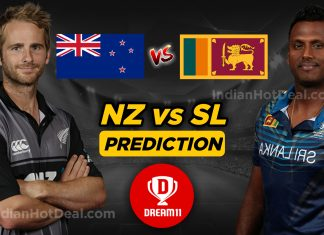 SL vs NZ 1st T20 2019 Dream11 Team Predictions Today (100% winning)