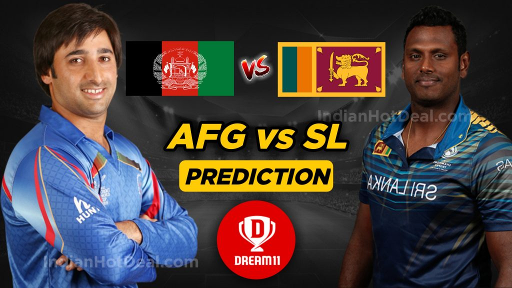 ICC CRICKET WORLD CUP MATCH 7 AFG VS SL
