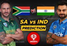 IND vs SA 2nd ODI Dream 11 Team Prediction Today (100% Winning Team)