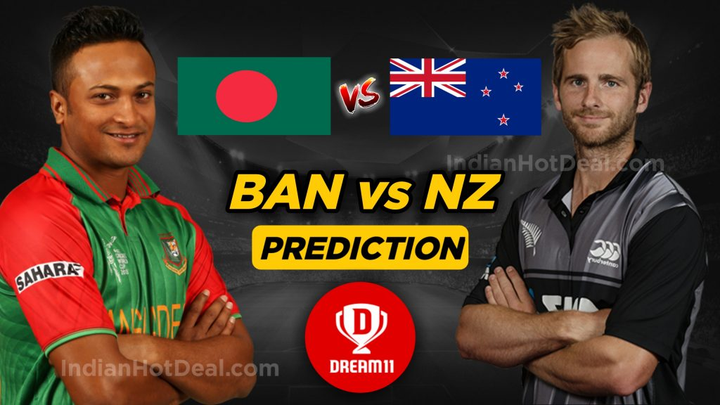 ICC World Cup 2019, BAN Vs NZ 9th Match, Dream 11 Team Predictions