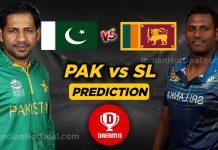 PAK vs SL 1st Test Dream11 Team Predictions Today Match 100% Winning