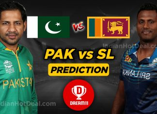 PAK vs SL 1st Test Dream11 Team Predictions Today Match 100% Winning