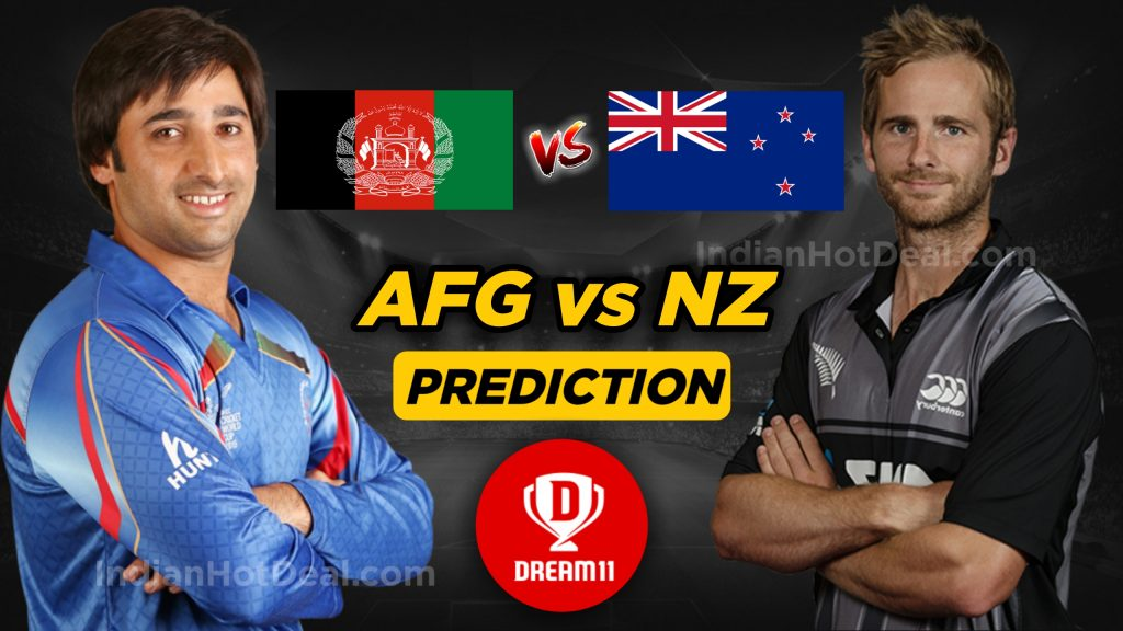 ICC WC 2019, 13th Match: AFG vs NZ Dream11 Team Prediction Today