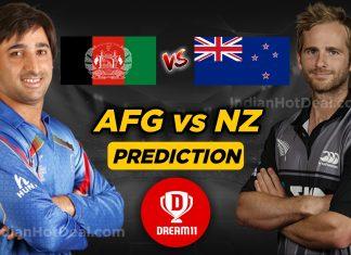 ICC WC 2019, 13th Match: AFG vs NZ Dream11 Team Prediction Today