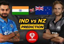 IND vs NZ 1st T20 Dream11 Team Predictions (100% Winning Team)