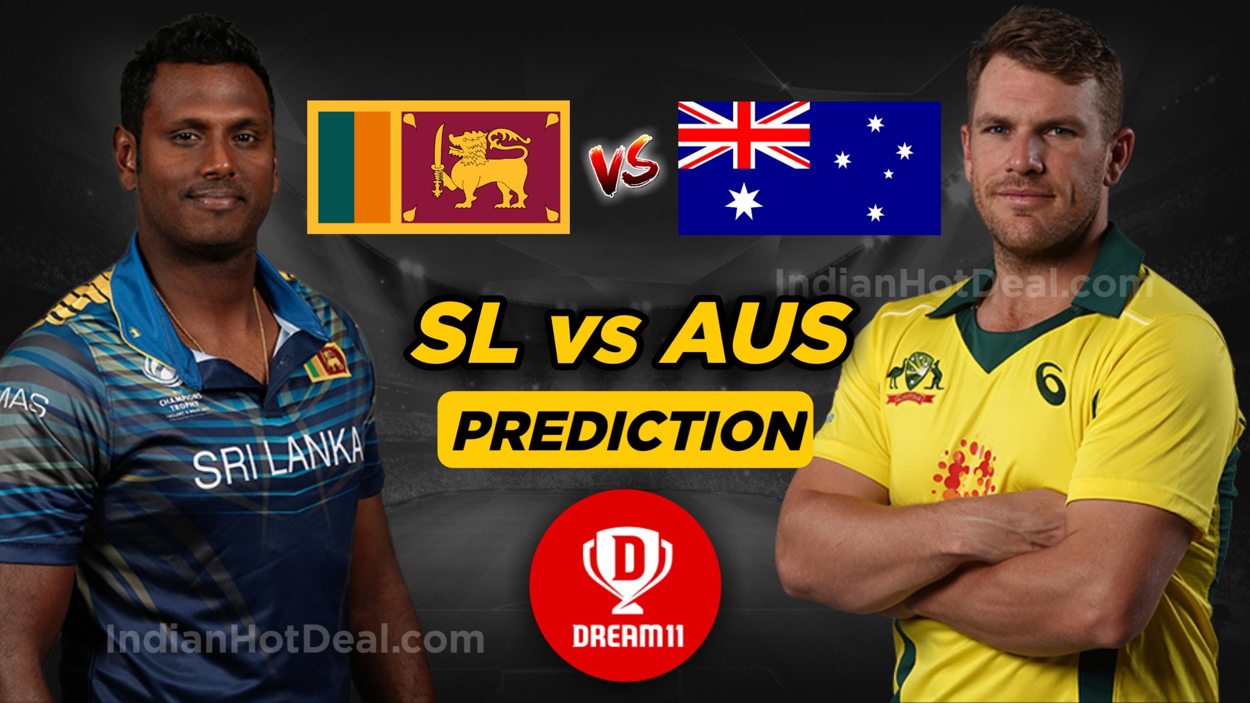 Aus vs SL 2nd T20 dream11 Team