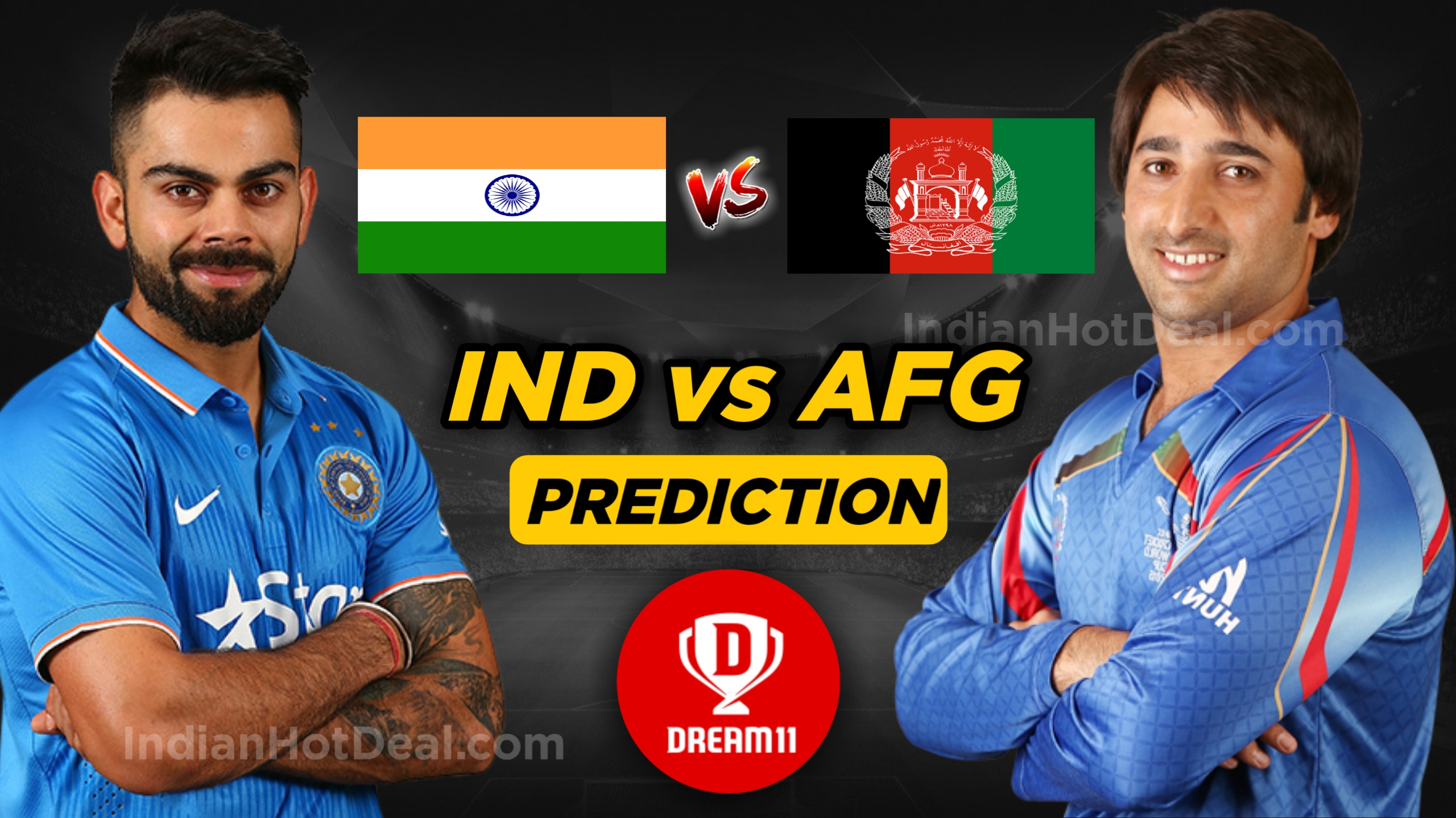 ICC WC 2019, 28th Match: IND vs AFG Dream11 Team Prediction Today