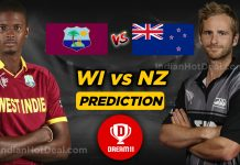 ICC WC 2019, 29th Match: WI vs NZ Dream11 Team Prediction Today