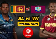 WI vs SL 1st ODI Dream11 Team Prediction for Today's Match