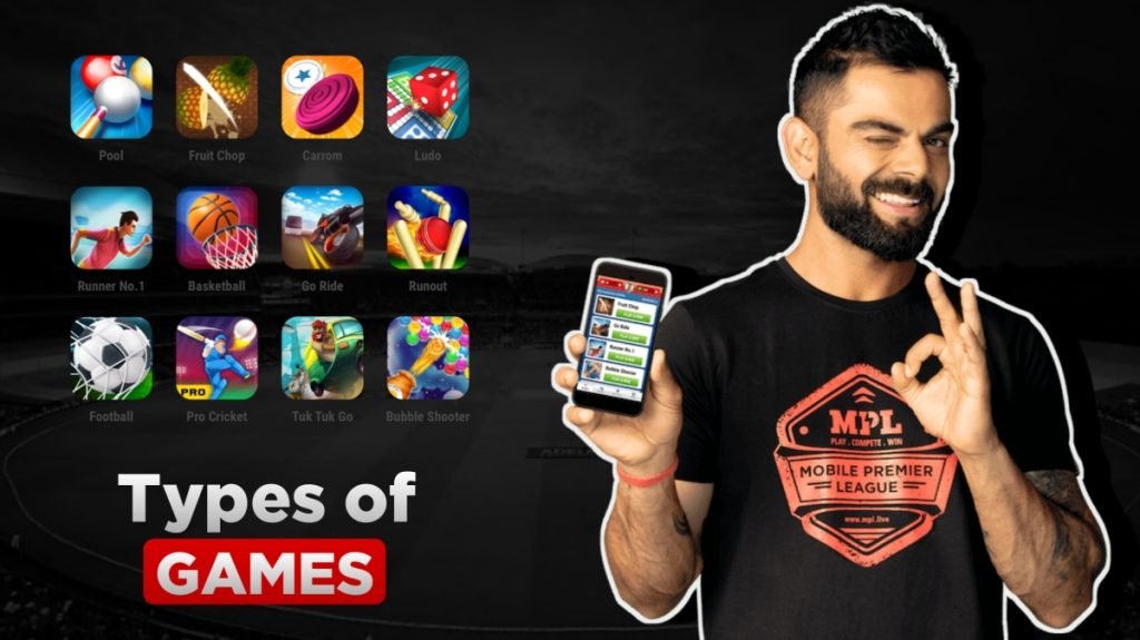 Format of Online Games available on MPL , MPL Referral Code 2019