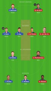 ENG vs SA Dream11 Teams For Small Leagues