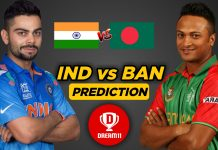 IND vs BAN 10th Warm-up game - ICC Cricket World Cup 2019 Dream11 Team
