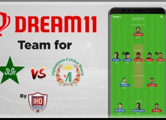 PAK vs AFG 1st Warm-up game - ICC Cricket World Cup 2019 Dream11 Team