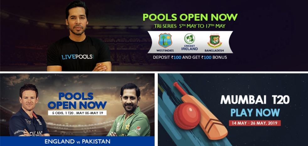 LivePools Fantasy Cricket: App Download
