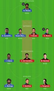 NZ vs SL Dream11 Team For Grand League