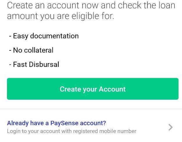 Procedure To Loan From Paysense App?