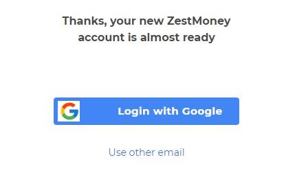 zest money login email